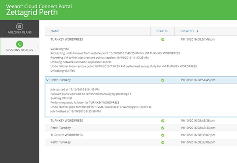 Veeam-client-portal - Zettagrid
